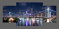 Картина на стекле Мост 160*70 см