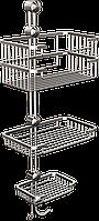 Полка металлическая (латунь) тройная Andex Classic, 041cc