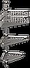 Полка металлическая угловая тройная Andex Classic, 042cc