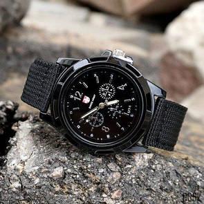 Мужские часы Swiss Army Gemius Army Black