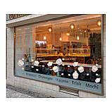 Наклейка на кухню Вінілова плівка Німеччина Ванильные сладости, фото 2