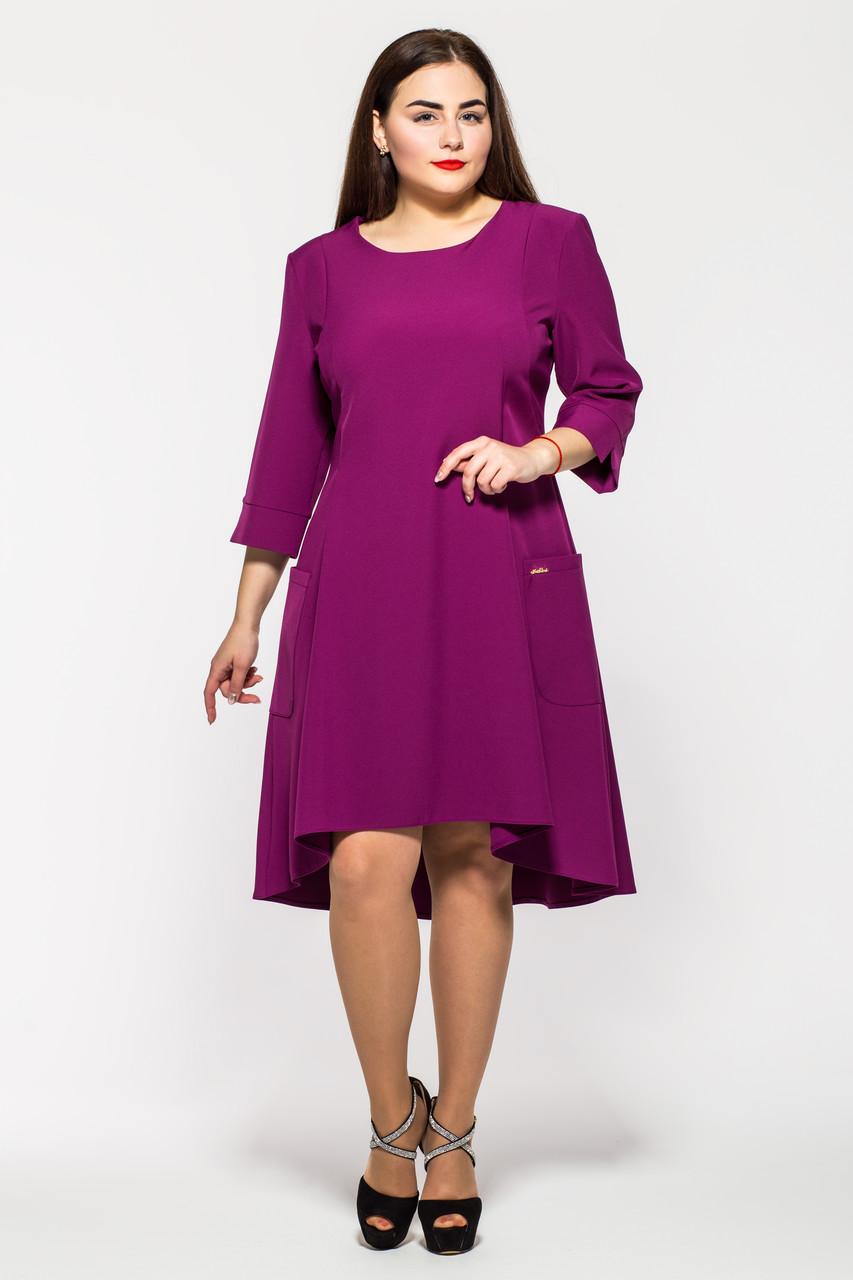 Платье Милана сирень
