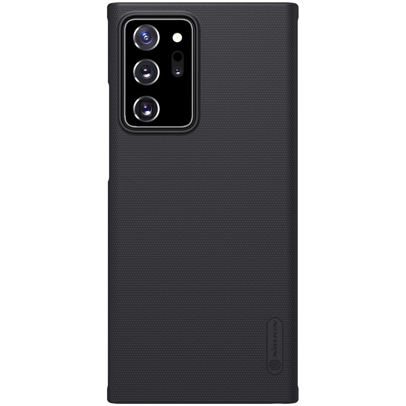 Nillkin Samsung Galaxy Note 20 Ultra Super Frosted Shield Black Чохол Накладка Бампер