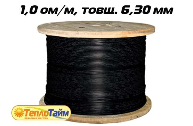 Одножильний нагрівальний кабель TXLP BLACK DRUM 1,0 OM/M