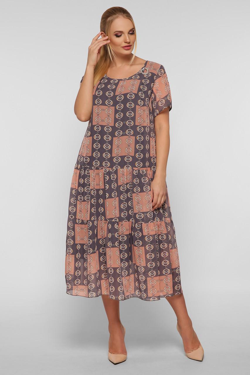 Платье летнее Катаисс пудра