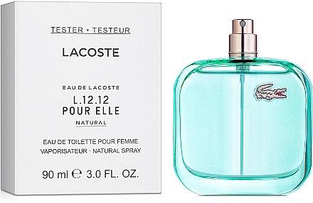 Тестер женского аромата Eau de Lacoste L.12.12 Pour Elle Natural Lacoste - 90 мл