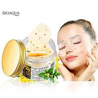 Патчи для кожи вокруг глаз с золотым османтусом Bioaqua Golden Osmanthus Eye Mask (140г/80шт)