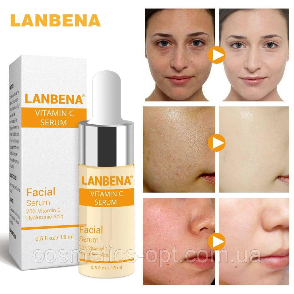 Серум с витамином С для здоровой кожи Lanbena Vitamin C Serum, 15 ml