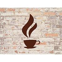 Наклейка на кухню Вінілова плівка Німеччина Кофе