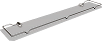 Полка стеклянная с ограничителем, 50см Classic