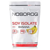 Протеин соевый изолят Носорог / Nosorog Nutrition Soy Isolate Protein 1 kg банан