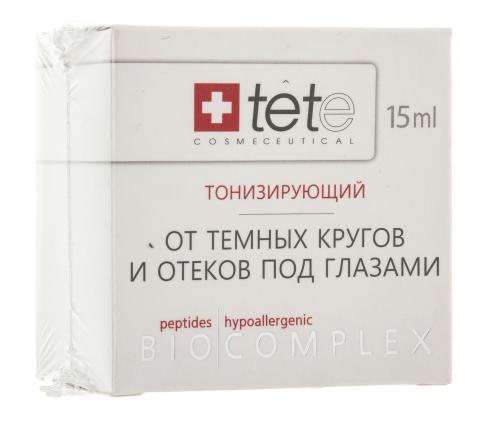 Биокомплекс тонизирующий от отеков и темных кругов TETe Cosmeceutical Biocomplex 15 ml