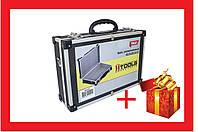 Кейс для инструмента Housetools - 425 x 285 x 130 мм алюминиевый с перегородками