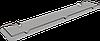 Полка стеклянная с ограничителем (60см) Andex Classic, 050/60cc
