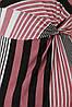 Платье женское летнее Белла пудра полоса, фото 7