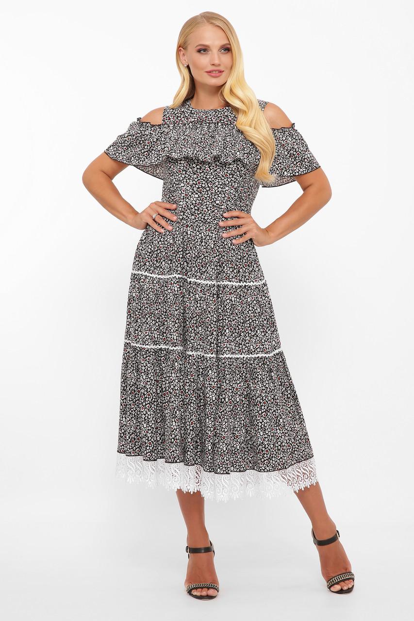 Нарядное платье Таяна фиалка