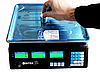 """Электронные торговые весы до 55кг с калькулятором и аккумулятором """"Вітек"""", фото 6"""
