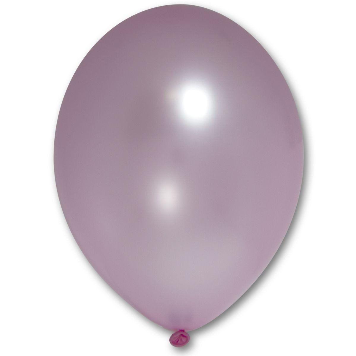 """Латексна кулька рожевий металік В105/071/ 12"""" Belbal"""