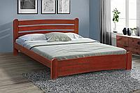Кровать Сабрина 140-200 см темный орех (Элегант)