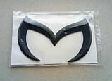 Эмблема Mazda черная, фото 2