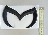 Эмблема Mazda черная, фото 4
