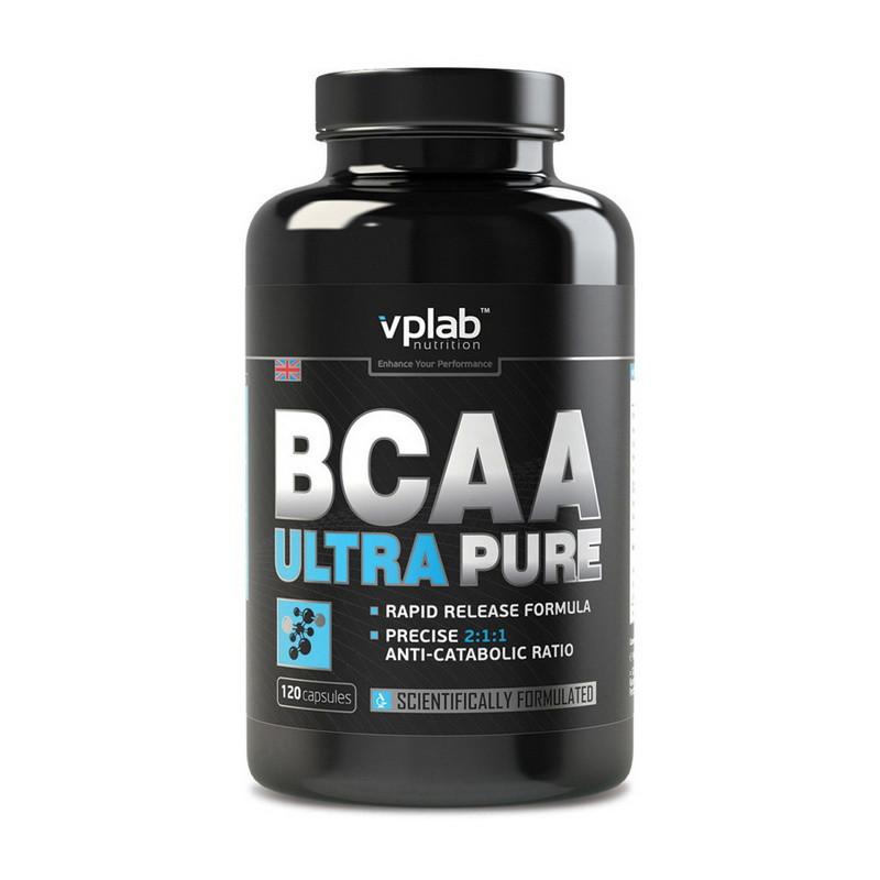 Аминокислоты VPLab BCAA Ultra Pure 120 капс
