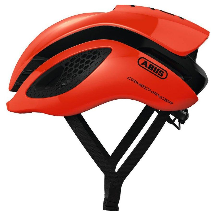 Шолом велосипедний ABUS GAMECHANGER M 52-58 Shrimp Orange
