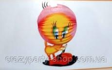 Подвесной бумажный фонарик -лампион Цыпленок