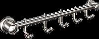 Вешалка 5 крючков для ванной  Classic