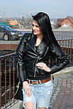 """Женская стильная куртка-косуха """"Зара"""" (2 цвета), фото 6"""