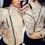 """Женская стильная куртка-косуха """"Зара"""" (2 цвета), фото 7"""