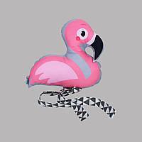 Подушка baby Flamingo розовый, рисунок 25см