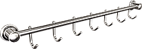 Вешалка 7 крючков для полотенец Andex Classic, 059cc, фото 1