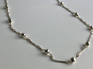 Серебряное ожерелье  Наслаждение Италия