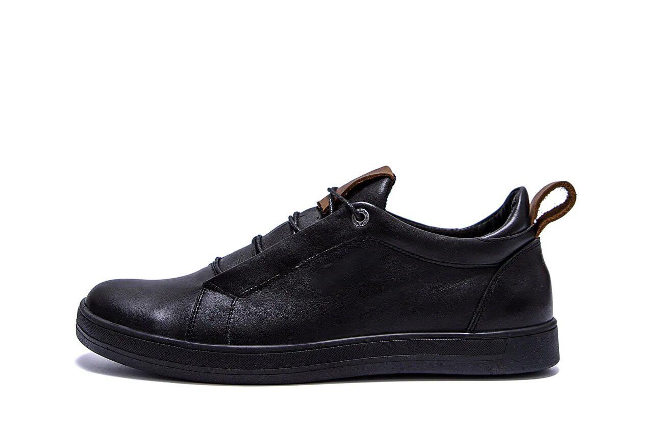 Мужские кожаные кроссовки E Collection р. 44 45