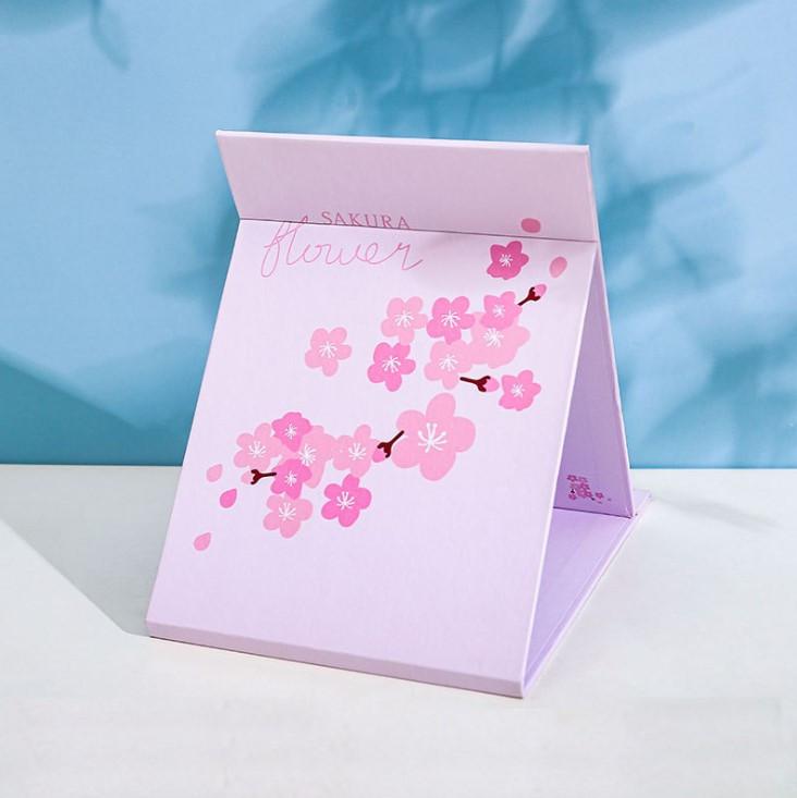 Дзеркало настільне косметичний Tinde sakura