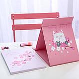 Дзеркало настільне косметичний Tinde sakura, фото 3