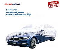 """Тент автомобильный Elegant """"M"""" 100 267 432x165x120см PEVA+PP Cotton"""