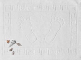 Рушник махровий для ніг біле (Туреччина)