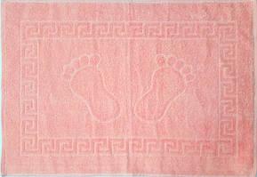 Рушник махровий для ніг рожеве (Туреччина)