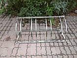 Велопарковка Graceful-4 из нержавейки на 4 места, фото 2