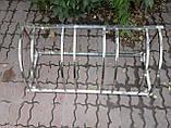 Велопарковка Graceful-4 из нержавейки на 4 места, фото 3