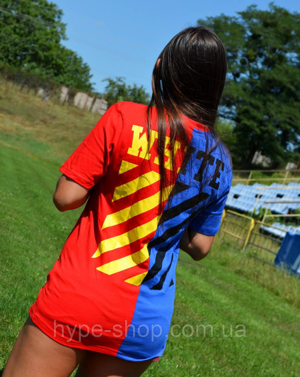 Женская Футболка в стиле Off White | ТОП Качество