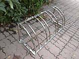 Велопарковка Graceful-4 из нержавейки на 4 места, фото 5