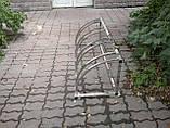 Велопарковка Graceful-4 из нержавейки на 4 места, фото 6
