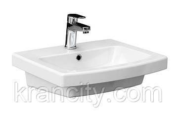 Умывальник Cersanit Easy 50x41 с отверстием,раковина в ванную