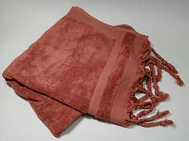 Полотенце махровое Косичка лиловое