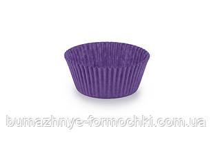Бумажная формочка для кексов, фиолетовый, 55*42.5 мм