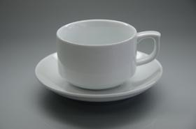Чашка 1в1 с блюдцем-F0999+F1000-4, 5