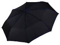 Черный зонт с синей окантовкой Pierre Cardin ( полный автомат ) арт. 82442, фото 1